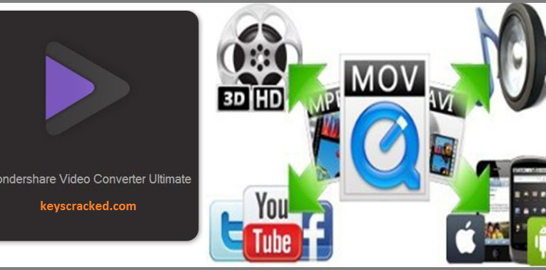 Wondershare Video Converter Ultimate 12.6.0.12  Crack Patch Key 2021 Download