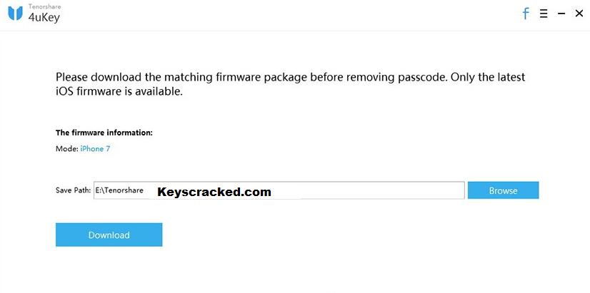 Tenorshare 4uKey Key