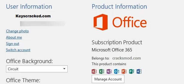 Microsoft Office 365 Key
