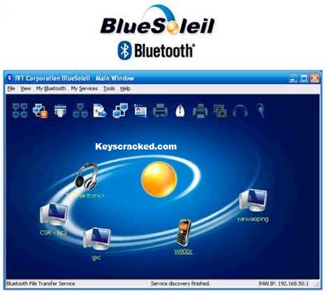BlueSoleil 10.0.498.0 Crack And Activation Keygen (Latest) 2021 Free Download