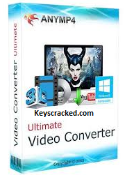 AnyMP4 Video Converter Ultimate 8.1.16 Crack + Registration Code 2021