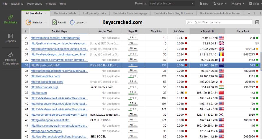 SEO PowerSuite Key
