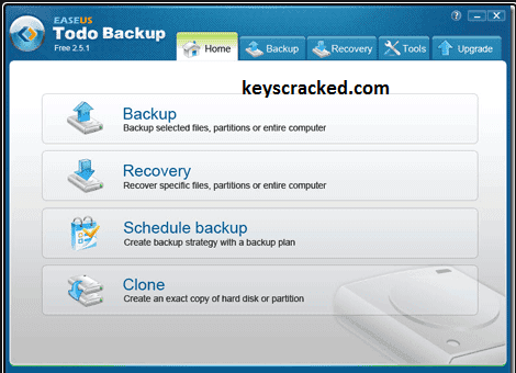 EaseUS Todo Backup 13.5 Crack + License Code New Key Update 2021 Here