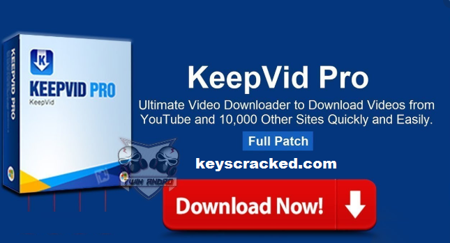 KeepVid Pro 8.1 Crack Full Serial Keygen New Version Download